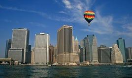 The New York City skyline stock photos