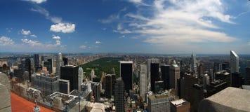 New York City Skyline. Overlooking Central Park royalty free stock photos