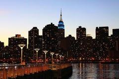 New, York, City, Skyline, Building Royalty Free Stock Photography
