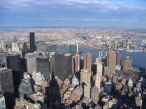 New York City, city, metropolitan area, urban area, skyline. New York City is city, skyline and cityscape. That marvel has metropolitan area, metropolis and Royalty Free Stock Photo