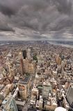 New York city skyline Downtown Stock Images