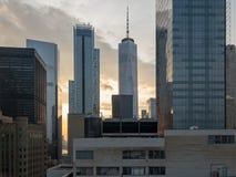 New York City Skyline Royalty Free Stock Images