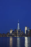 New York City Skyline from Liberty State Park Royalty Free Stock Image