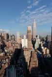 New York City Skyline Looking East Stock Photo