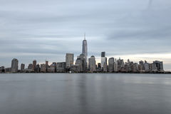 New York City Skyline from New Jersey Stock Photos