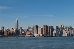 The New York City Skyline stock photos