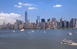 New York City skyline, NY, USA Stock Photos