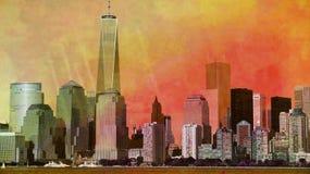 New York City Skyline. Photo Stock Photography