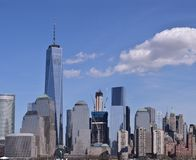 New York City Skyline. Seen from Roosevelt Island, New York City, USA Royalty Free Stock Photo