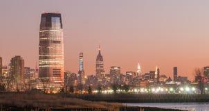 New york city skyline surroundings Stock Photos