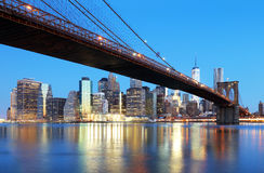 New York City skyline, USA Stock Photography