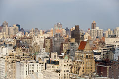 New York City Skyline View From 23rd Story Royalty Free Stock Photos