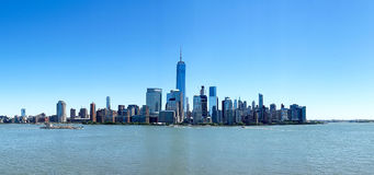 New York City Skyline. World`s major financial centers, Metropolis Stock Image