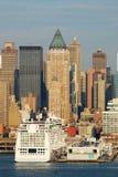 New York City skyscrapers Stock Image