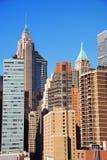 New York City skyscrapers Royalty Free Stock Photos