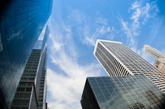 New York city skyscrapers Stock Photography