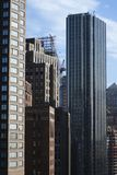 New York City skyscrapers. Royalty Free Stock Photography