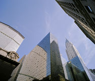 New York City Skyscrapers Stock Images