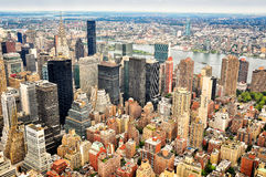 New York city skyscrapers skyline Royalty Free Stock Images