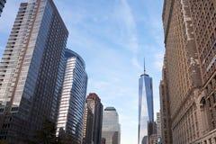 New York City Skyskrapers fotografía de archivo libre de regalías