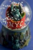 New York city snow globe Royalty Free Stock Images