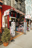 New York City souvenirs on display in Little Italy Royalty Free Stock Photos