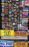 New York City souvenirs on display in Manhattan Stock Photo