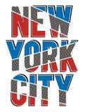 New York City sportif, vecteur Illustration Libre de Droits