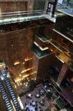 New York City 1st Juli: Detaljer för trumftorninre från Fifth Avenue i Manhattan från New York City i Förenta staterna Arkivbilder