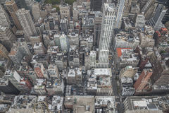 New York. City,  State, view from Empire State building Royalty Free Stock Photography