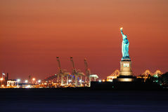 New York City Statue of Liberty Royalty Free Stock Photos