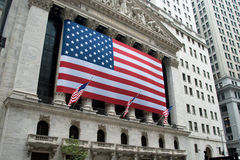 New York City Stock Exchange Royalty Free Stock Photography