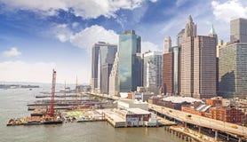 New York City strand, USA Royaltyfri Fotografi