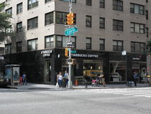 New York City Street Corner Stock Photography