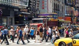 New York City Street Scene Stock Images