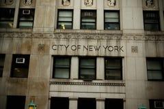 New York City street scene. Landscape Royalty Free Stock Photography