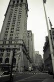 New York City street scene Royalty Free Stock Photos