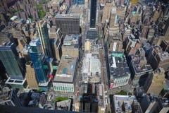 New York City street scene. Landscape Royalty Free Stock Image