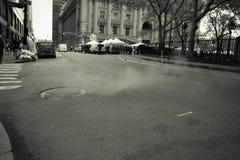 New York City street scene Royalty Free Stock Photo