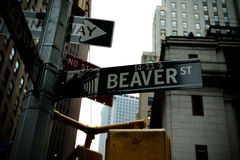 New York City street scene Royalty Free Stock Image