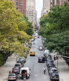 New York City street scene Stock Photography