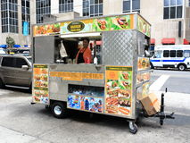 New York City Street Vendor Stock Photos