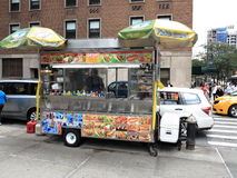 New York City Street Vendor Stock Images