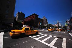 New York City streets. View of New York City streets Royalty Free Stock Photography