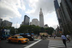 New York City streets Stock Photography