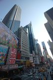 New York City streets. View of New York City streets Royalty Free Stock Images
