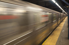 New York City Subway Royalty Free Stock Photos