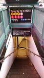 New York city subway royalty free stock image