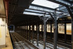 New York City Subway Station Royalty Free Stock Images