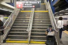 New York City subway system Stock Photography